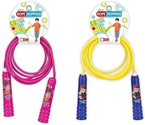 Kiddoo 83216727 - Cuerda de saltar, multicolor