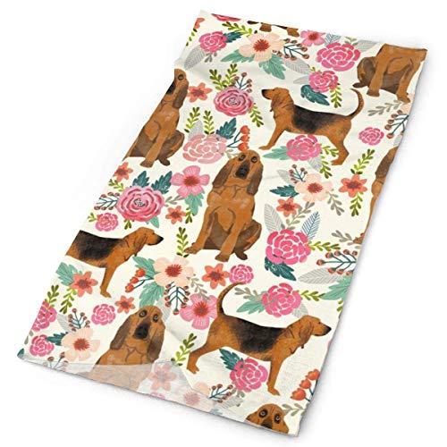 NA Bloodhound Honden En Bloemetjes CreamFacial Hoofdband Make Up Wrap Hoofd Terry Doek Hoofdband Stretch Handdoek make-up Haarband Sport Yoga Douche