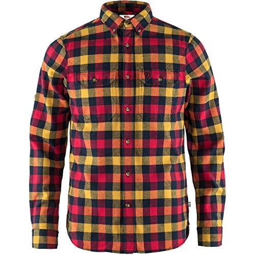 Fjällräven Herren Skog Shirt M Hemd, rot, L
