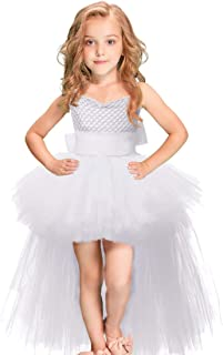 leegleri Girls Tutu Dress Tulle Princess Dresses for Prom,Party,Pageant,Birthday,Special Occasion