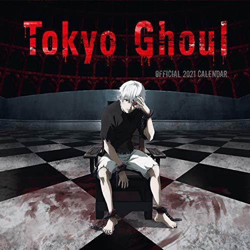 Tokyo Ghoul 2021 Calendar - Official Square Wall Format Calendar