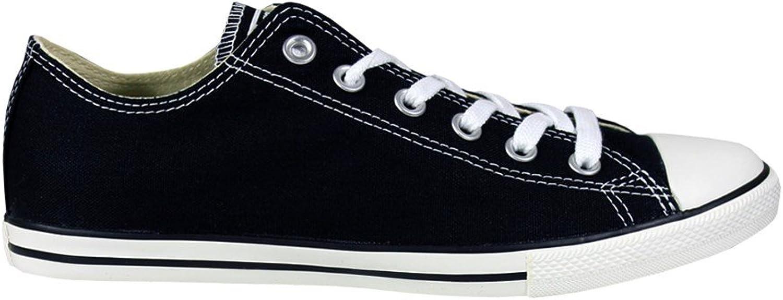 Converse Unisex Chuck Taylor Classic Black Sneaker - 6 Men - 8 Women