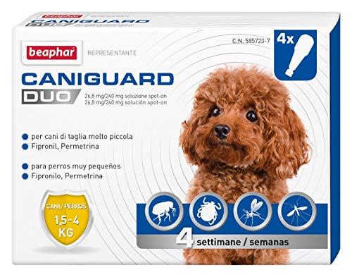 Beaphar Cauliguard Duo XS 1.5-4kg 4 pipetas