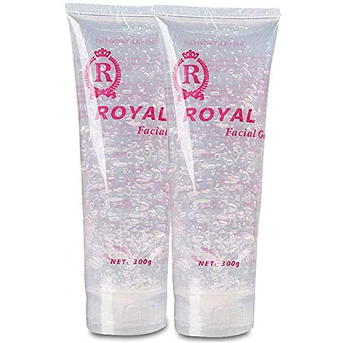 2Pcs Cooling Gel Cream Use with for Laser Hair Removal Device and RF Radio Frequency Facial Machine for Women 600ML