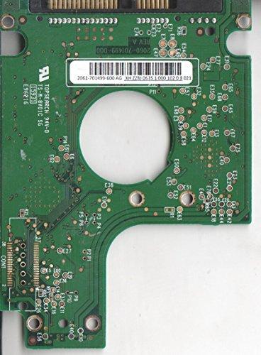 WD1200BEVS-60UST0, 2061-701499-600 AG, WD SATA 2.5 Leiterplatte (PCB)