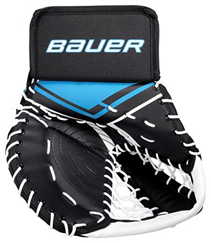 Bauer Inlinehockey Torwart Fanghand Handschuhe für Straßenhockey Floorball für Erwachsene, Sport & Freizeit - Regular