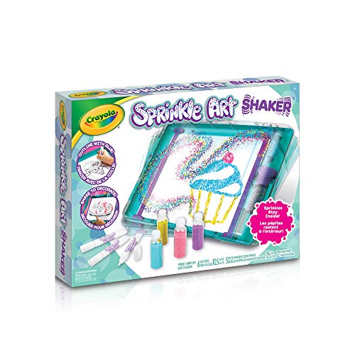 Crayola Sprinkle Art Shaker, Holiday Toys, Kids Craft, Arts and Crafts, Art Shaker, Gift Kids, Ages 5, 6, 7, 8