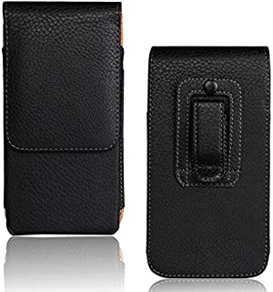 Belt Clip Case for Samsung Galaxy Note 8, Galaxy S9 Plus Holster Vertical Leather Belt Clip Pouch Holster Case For Samsung Galaxy Note 8/Note 5/Note 4