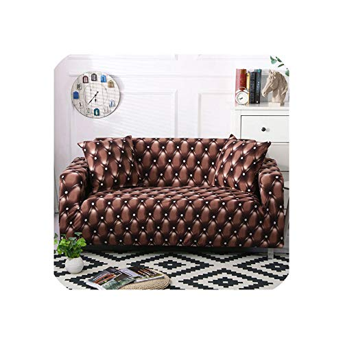 S-paw Sofa Cover Set Elastic Couch Cover Sofa Covers for Living Room Pets Cubre Sofa L Shape Chair Cover Pillow Case 1/2/3/4 Seater,Color 14,3-Seater 190-230Cm