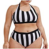 Bropa Interior La Playa Mujeres Playa Sin Traje Baño, Ikini Natación, Bikinis Mujer Brasileños, Trikinis Push Up, Bikinis Braguita Ancha, Bañadores Braga Alta,Relleno Bañador Mujer, Negro