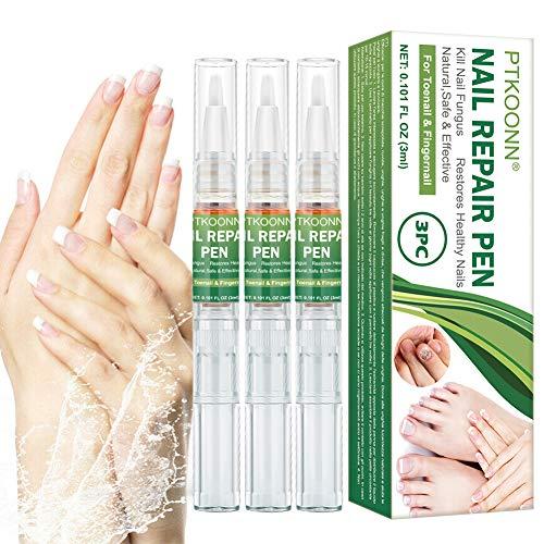 Nagelpflege Stift, Nagel Behandlung Stift, Nagelreparatur Stift für Reparatur gebrochene Nägel lass Fuß und Hand gesunde Nail Treatment Nagelpflege pflegend 3PC