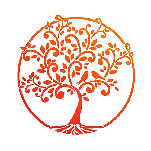 Universalschablone A4 - Baum des Lebens -