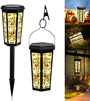 2-Pack Moremili Decorative- IP65 Waterproof Automatic Solar Landscape Light