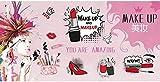 Papel Tapiz Pared American Hand Painted Cosmetics Tienda De Uñas Maquillaje Tienda Fondo Wall-400Cmx280Cm