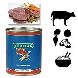 Veritas Hundemenü 28 x 800 g Dosen in 6 Geschmacksrichtungen Hundenahrung Premium Nassfutter Hundefutter ohne Konservierungsstoffe, keine chemischen Farb-, Duft- und Lockstoffe - 5
