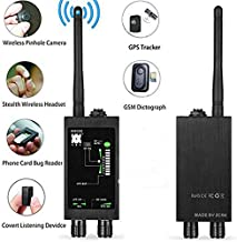 Bug Detector,Vecoacopd Anti-Spy Detector RF Wireless Magnetic Field Signal Detection,Hidden Camera Detector for GSM Tracking Device (M8000)