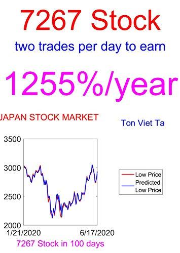 Price-Forecasting Models for Honda Motor Ltd 7267 Stock (Nikkei 225 Components) (English Edition)