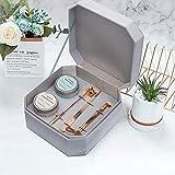 Juego de velas aromáticas de alta gama, regalo de cumpleaños para mujeres y novias en caja y boda
