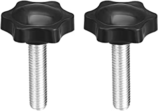 uxcell/® Clamping Handle Gripandles Screw Knobs Handgrips M5 x 25mm Threaded T-Shape 10pcs