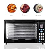 GOLUX Multi-Use Large Convection Countertop Toaster Ovens 27QT with Dehydrator Machine for...