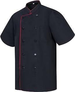 MISEMIYA - Chef Jacket with Reformed Button - Ref.8421B