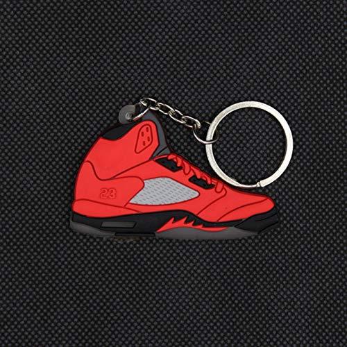 Toee Mini llavero llavero colgante para hombres y mujeres colorido zapatillas de deporte llavero zapatos de baloncesto llavero llavero