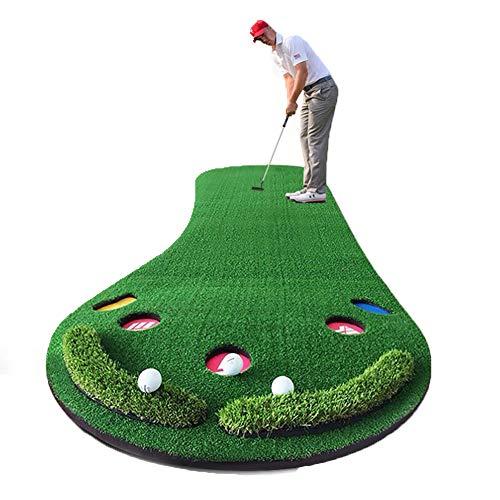 Mini Golf Ninos Juego De Práctica De Colocación De Esteras De Golf Juego Mini Función De Retorno De Bola Automática Portátil Profesional para Deportes Y Aire Libre,Green-B