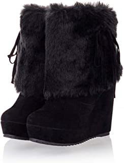 Best tivoli suede & faux fur pull on boots Reviews