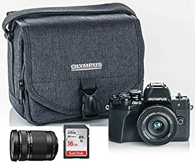 Olympus OM-D E-M10 Mark III (Mark 3) Digital Camera Bundle from Olympus