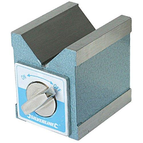 Silverline 244994 Magnetspannprisma 70 x 60 x 70 mm
