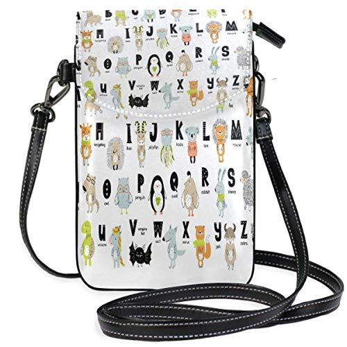 XCNGG Alphabet Z Cell Phone Purse Wallet for Women Girl Small Crossbody Purse Bags