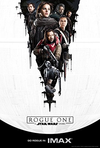 STAR WARS ROGUE ONE: A STAR WARS STORY Original Movie IMAX EXCLUSIVE Promo Poster - 13 x 19