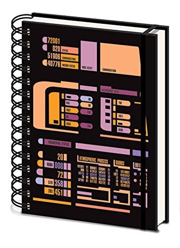Star Trek TNG - Taccuino A5 a spirale (Control Panel)