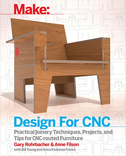 Design for CNC: Furniture Projects and Fabrication Technique (English Edition)