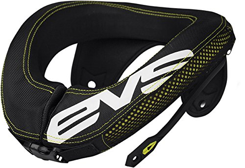 EVS Sports 112053-0109 R3 Race Collar (Black, Adult)
