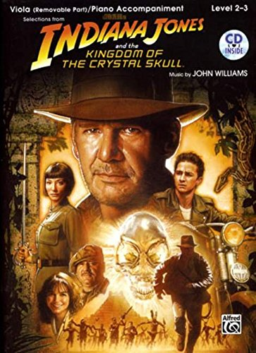 Indiana Jones and the Kingdom of the crystal Skull (+CD) : for viola and piano