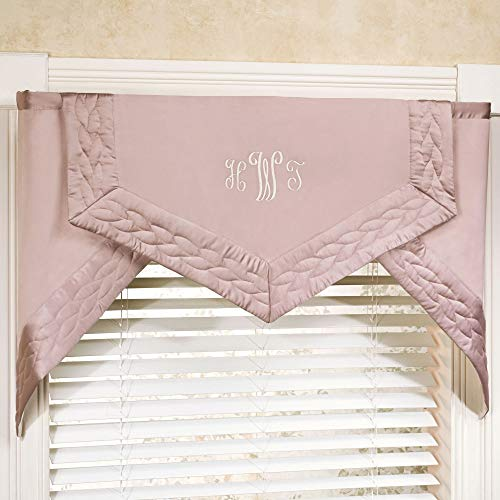 WestPoint Home Silk Allure Cornice Valance Set 66 x 28