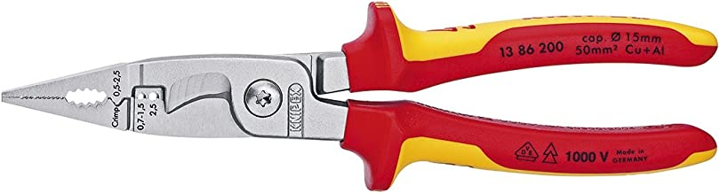 Knipex Tools 13 86 200 SB Electrical Installation Pliers