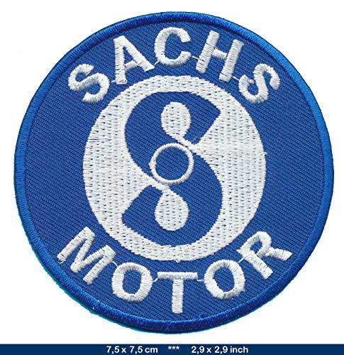 Sachs Patch Aufnäher Bügelbild Mofa Moped Mokick Kleinkraftrad FS03
