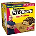 FITCRUNCH Snack Size Protein Bars | Designed by Robert Irvine | World's Only 6-Layer Baked Bar | Just 3g of Sugar & Soft Cake Core
