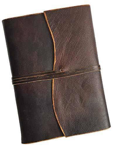 2021 Tages-Kalender mit Ledereinband BORDEAUX - 1 Seite = 1 Tag, Sa. + So. auf einer Seite, mit übersichtlichem Brunnen Terminplaner | Chefkalender - Buchkalender - Organizer für Sie und Ihn | DIN A5