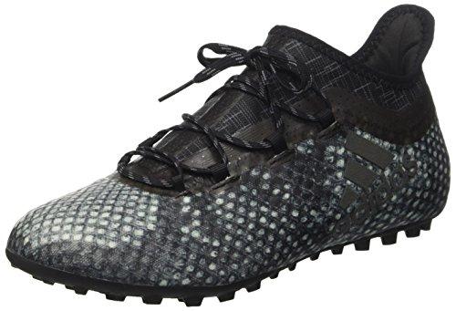 adidas Herren X 16.1 Cage Fußballschuhe, Schwarz (Vapour Green F16/Core Black/Core Black), 41 1/3 EU