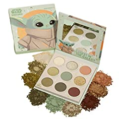 "The Cutest In The Galaxy ""The Child Palette"" inspired by The Mandalorian This monochromatic olive green palette features a range of finishes from matte, metallic, and our iconic Super Shock formula Shade neutrals, golds, greens: Precious Cargo, Right..."