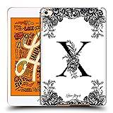 Head Case Designs Officiel Nature Magick Lettre X Monogramme Floral B&W 2 Coque Dure pour l'arrière...