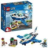 LEGO City Police - Policía Aérea: Jet Patrulla, Set de Construcción Creativo de Avión de Juguete para Recrear Aventuras (60206)