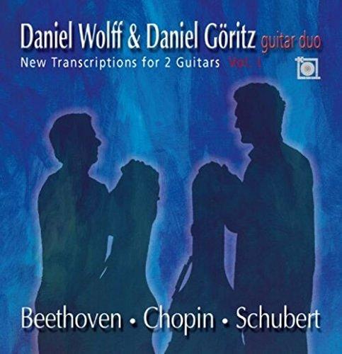 New transcriptions for 2 guitars Vol. 1