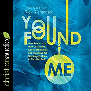 You Found Me audiobook cover art