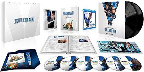 Valérian et la cité des mille planètes - Coffret Collector Edition Limitée - Combo Blu-ray 4K + Blu-ray 3D + Blu-ray + DVD