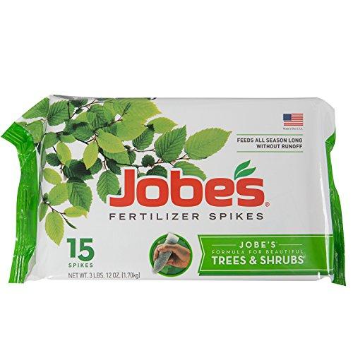 Jobe s 01660 1610 0 Tree Fertilizer Spikes 16-4-4  15