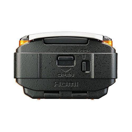 RICOH防水アクションカメラWG-M2オレンジ4K動画超広角204度ハウジング不要防水20m耐衝撃2m03801